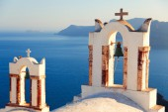 Church at Oia, Santorini — Stock Photo