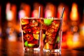 Cuba Libre cocktail — Stock Photo