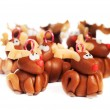 Polymer clay reindeers, christmas decoration — Stock Photo #62195467