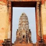 Wat Phra Mahathat in Ayuthaya — Stock Photo #62200331