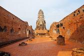 Wat Phra Mahathat in Ayuthaya — Stock Photo