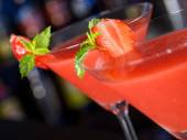 Strawberry Daiquiri Cocktail — Stockfoto