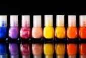 Nail Polish collection — Stock Photo