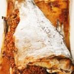 Baked stuffed carp — Stock Photo #62255977