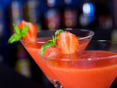 Strawberry Daiquiri Cocktail — Stock Photo
