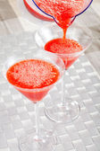 Strawberry Daiquiri cocktail — Stock Photo