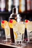 Tom collins cocktail — Fotografia Stock