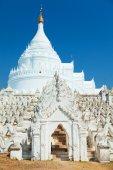 Hsinbyume pagoda, Mingun, Myanmar — Stock Photo