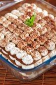 Homemade cheesecakes with cocoa — Foto de Stock