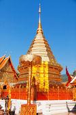 Wat Phrathat Doi Suthep temple — Stock Photo