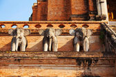 Wat Chedi Luang temple, Thailand — Stock Photo