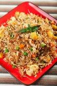 Typical indian Chicken Biryani — Stock Photo