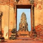 Wat Phra Mahathat, Ayuthaya — Stock Photo #62348141