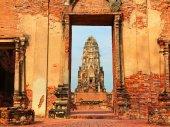 Wat Phra Mahathat, Ayuthaya — Stock Photo