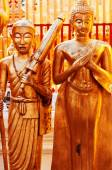 Wat Phrathat Doi Suthep sculptures, Thailand — Stock Photo
