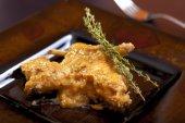 Curry de coelho com ervas — Fotografia Stock