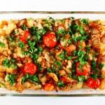 Homemade salmon casserole — Stock Photo #62398065