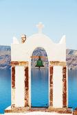 Architecture in Oia, Santorini — Stock Photo