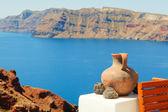 Vista de oia, santorini — Foto de Stock