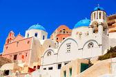 Cidade de Oia, santorini — Fotografia Stock