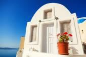 Oia town, Santorini — Stock Photo