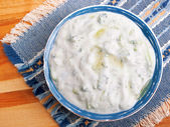 Greek cuisine Tzatziki — Stock Photo