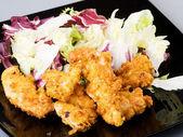 Křupavé smažené kuře — Stock fotografie