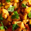 Gobi Aloo Indian curry dish — Stock Photo #62431539