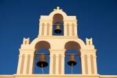 Famous church in Fira — Stock Photo