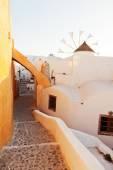 Street in Oia, Santorini — Stock Photo
