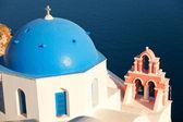 Oia architecture, Santorini — Stock Photo