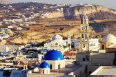 Fira cityscape, Santorini — Stock Photo
