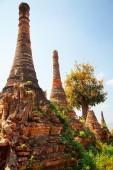 Stupas in Sagar, Myanmar — Stock Photo