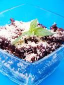 Deser ryż z czekoladą — Zdjęcie stockowe