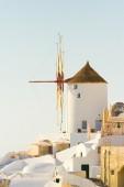 Oia, Santorini at daylight — Stock Photo