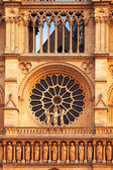 Detail of Notre Dame, Paris — Стоковое фото
