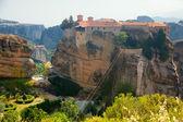 Meteora Clifftop Monasteries — Stock Photo