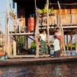 Burmese family in Inle Lake, Myanmar — Stock Photo #63282221