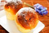 Pão doce de páscoa — Fotografia Stock