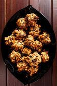 Homemade muesli cookies — Stock Photo
