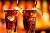 Long Island Iced Tea cocktail — Stock Photo