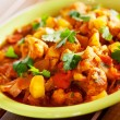 Gobi Aloo Indian curry dish — Stock Photo #63291195