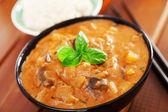 Vegetarian thai curry — Fotografia Stock