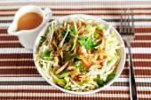 Celery salad with zucchini — Stock Photo