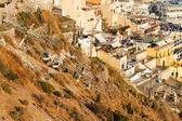 Fira cityscape in Santorini — Stock Photo