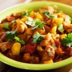 Gobi Aloo Indian curry dish — Stock Photo #63319915