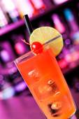 Cocktails Collection - Cranberry Cooler — Stock Photo