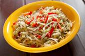 Chinese salad with soya beans — Stockfoto
