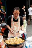 Street food in Bangkok, Thailand — Stock Photo