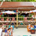 Massage at Chaweng Beach, Thailand — Stock Photo #63339589